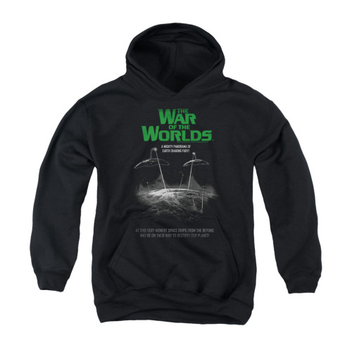 Image for War of the Worlds Youth Hoodie - Attack Poster