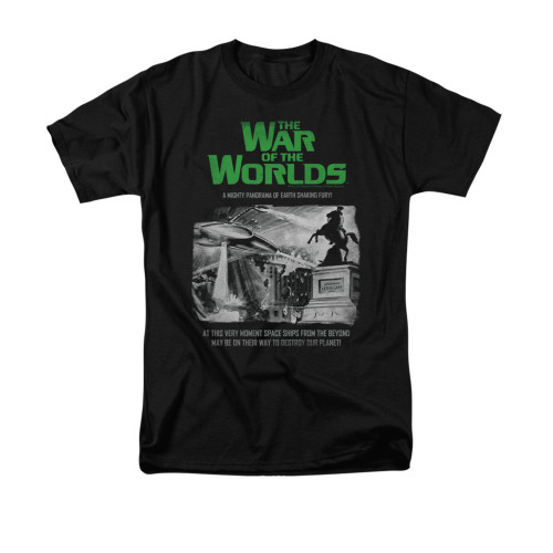 Image for War of the Worlds T-Shirt - Attack People Poster