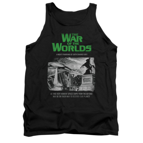 Image for War of the Worlds Tank Top - Attack People Poster