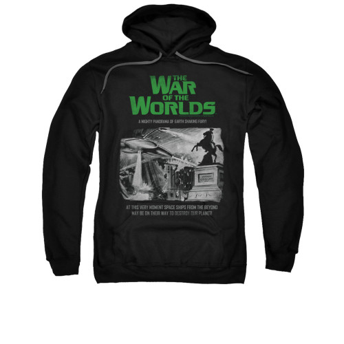 Image for War of the Worlds Hoodie - Attack People Poster