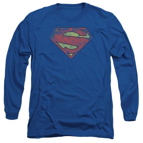 Image for Superman Long Sleeve T-Shirt - New 52 Shield Logo