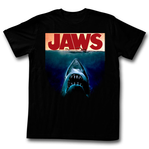Image for Jaws T-Shirt - Poster Again