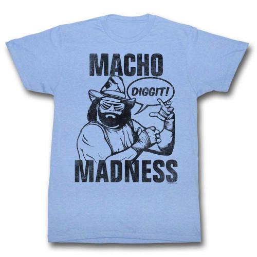 Image for Macho Man T-Shirt - Diggit
