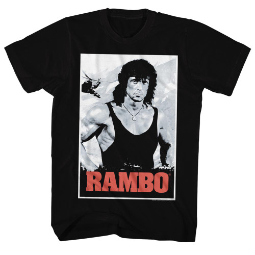 Image for Rambo T-Shirt - Two Tone