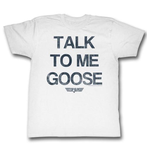 Image for Top Gun T-Shirt - Talk to Me Goose