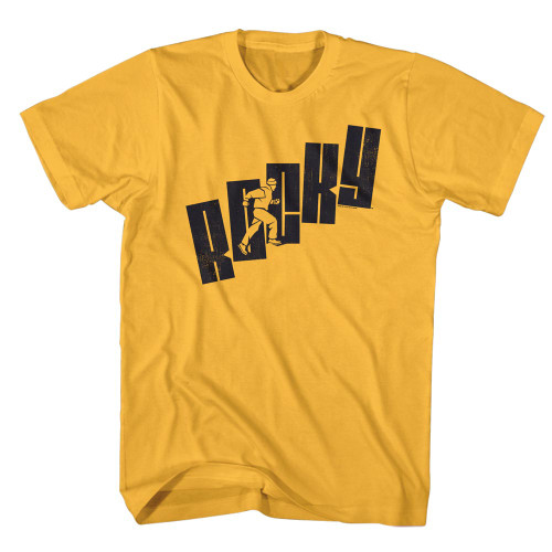 Image for Rocky T-Shirt - Name Steps