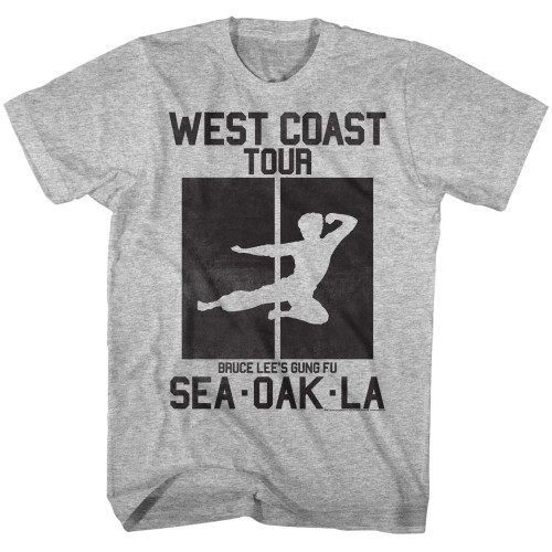 Image for Bruce Lee West Coast Tour T-Shirt