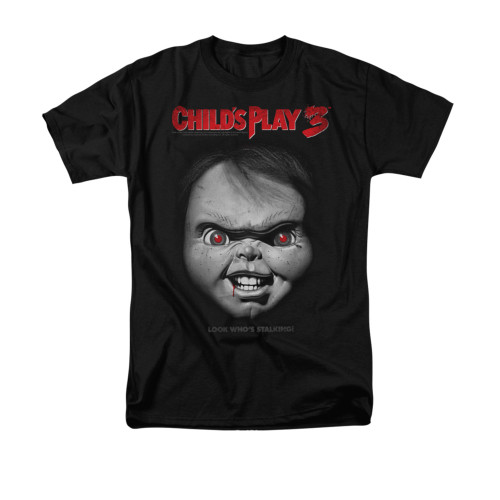 Image for Child's Play T-Shirt - Face Poster
