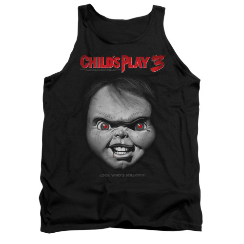 Child's Play Tank Top - Face Poster