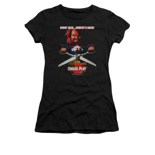 Child's Play Girls T-Shirt - Chucky's Back