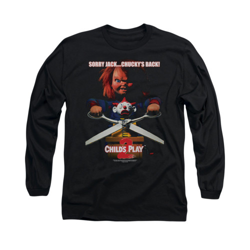 Image for Child's Play Long Sleeve T-Shirt - Chucky's Back