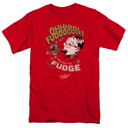 Image for A Christmas Story T-Shirt - Fudge