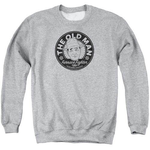 Image for A Christmas Story Crewneck - The Old Man