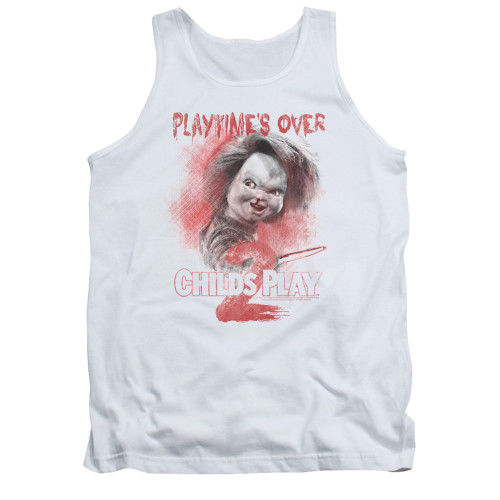 Image for Child's Play Tank Top - Play Time's Over