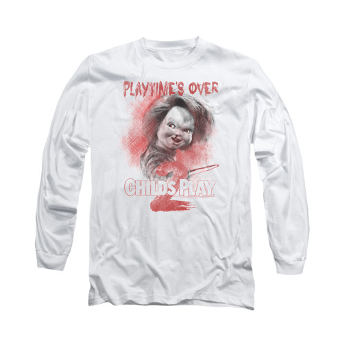 Image for Child's Play Long Sleeve T-Shirt - Play Time's Over