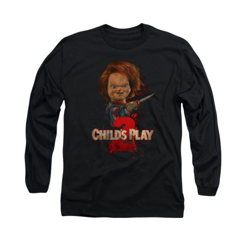 Image for Child's Play Long Sleeve T-Shirt - Here's Chucky