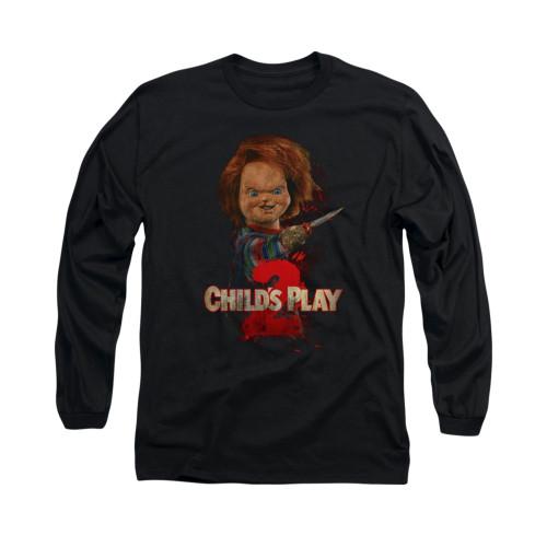 Child's Play Long Sleeve T-Shirt - Here's Chucky