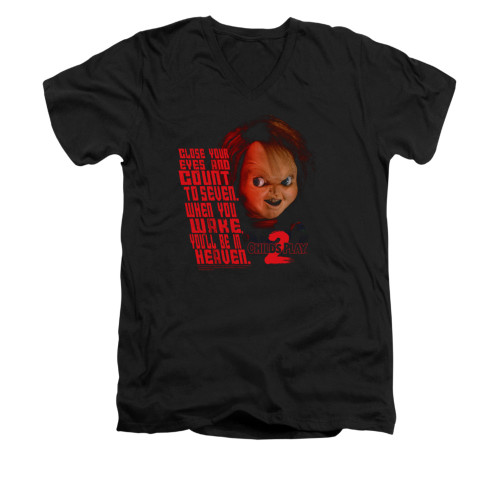 Image for Child's Play V-Neck T-Shirt - In Heaven