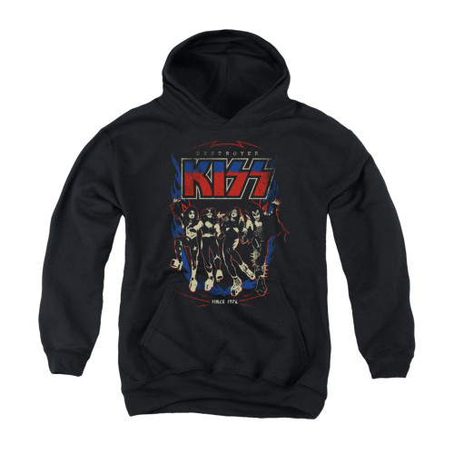 Image for Kiss Youth Hoodie - Destroyer