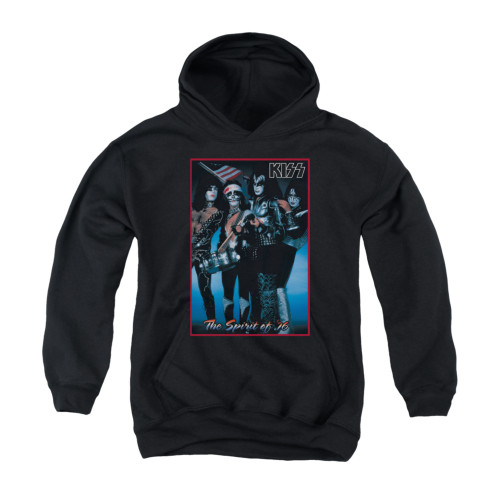Image for Kiss Youth Hoodie - Spirit of '76