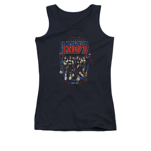 Image for Kiss Girls Tank Top - Destroyers