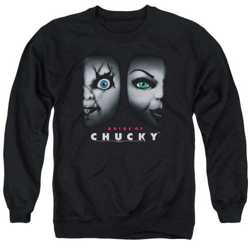 Image for Bride of Chucky Crewneck - Happy Couple