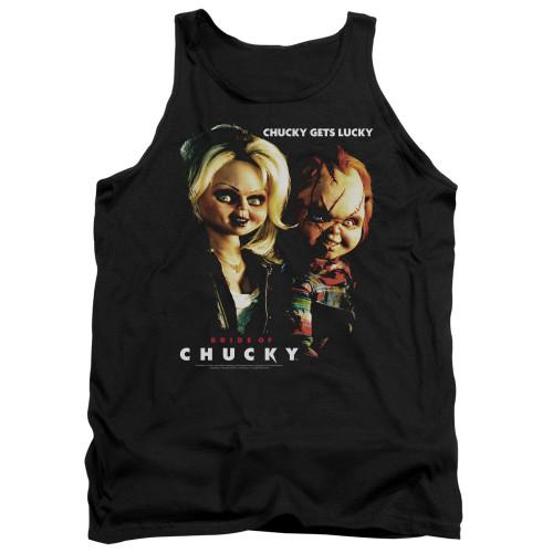 Image for Bride of Chucky Tank Top - Chucky Gets Lucky