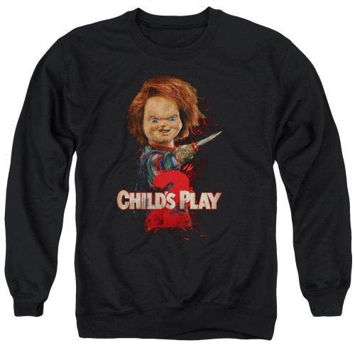 Image for Child's Play Crewneck - Here's Chucky