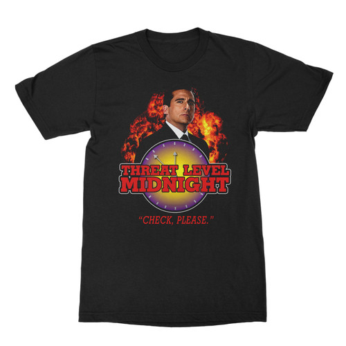 Image for The Office Threat Level Midnight T Shirt