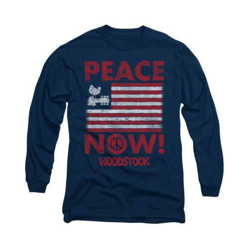 Woodstock Long Sleeve T-Shirt - Peace Now