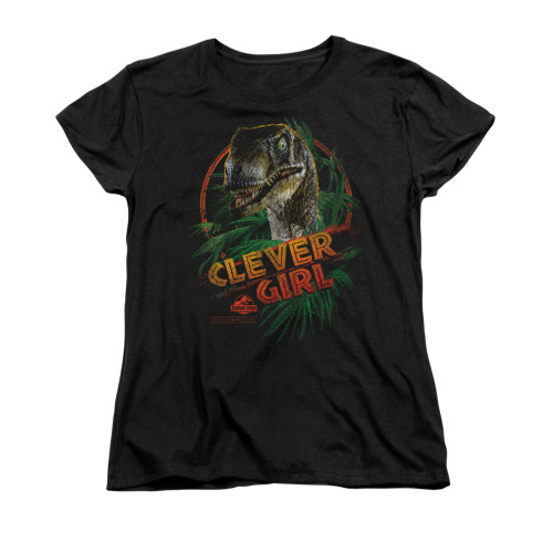 Jurassic Park Woman's T-Shirt - Clever Girl