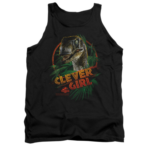Image for Jurassic Park Tank Top - Clever Girl