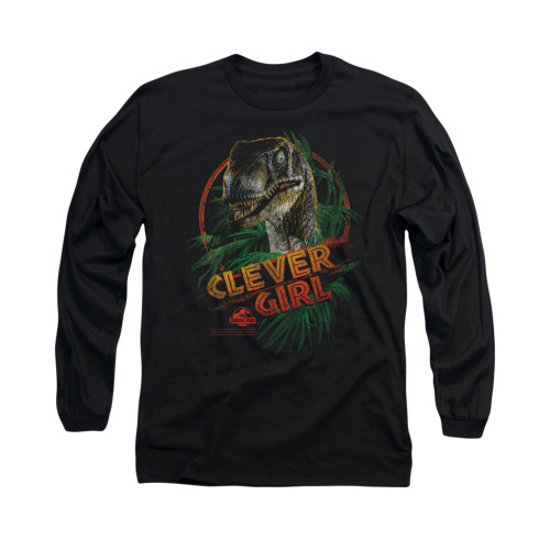 Image for Jurassic Park Long Sleeve T-Shirt - Clever Girl