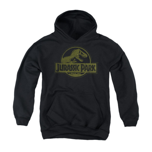 Image for Jurassic Park Youth Hoodie - Distressed Logo