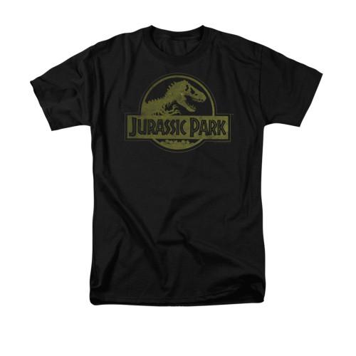 Image for Jurassic Park T-Shirt - Distressed Logo