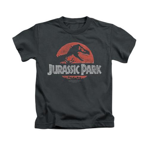 Image for Jurassic Park Kids T-Shirt - Faded Logo