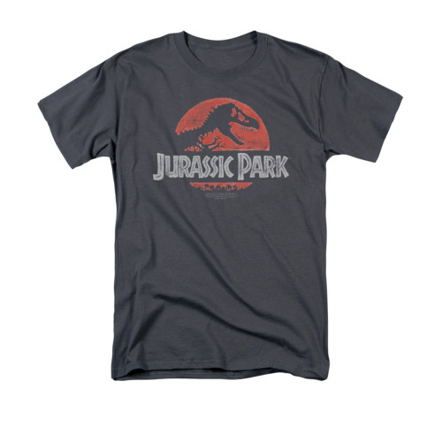 Image for Jurassic Park T-Shirt - Faded Logo