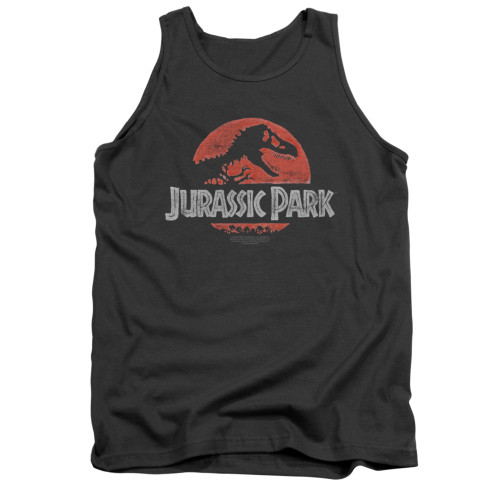 Image for Jurassic Park Tank Top - Faded Logo
