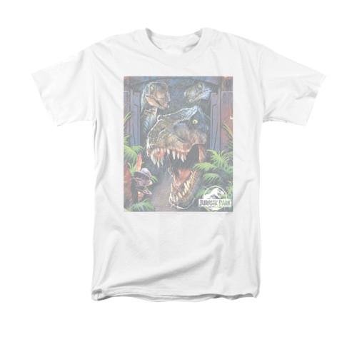 Image for Jurassic Park T-Shirt - Giant Door