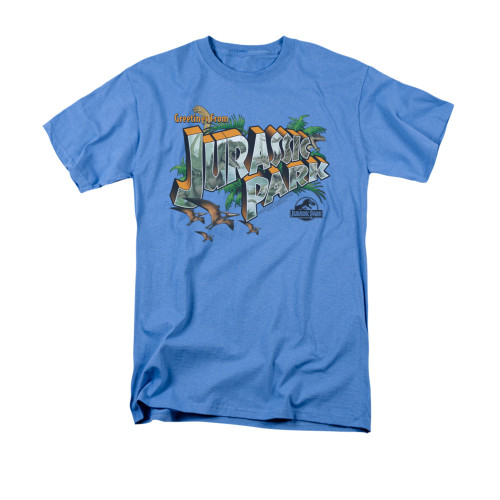 Image for Jurassic Park T-Shirt - Greetings from Jurassic Park