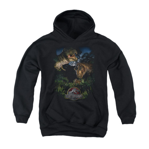 Image for Jurassic Park Youth Hoodie - Happy Family