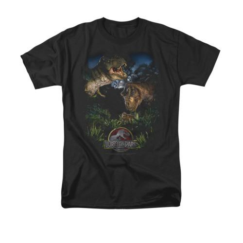 Image for Jurassic Park T-Shirt - Happy Family