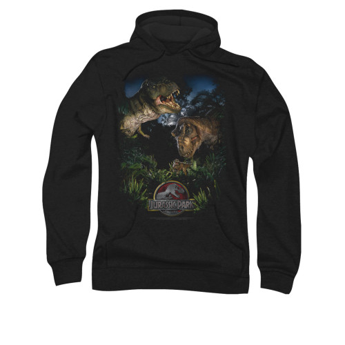 Image for Jurassic Park Hoodie - Happy Family