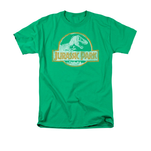 Image for Jurassic Park T-Shirt - Jurassic Park Orange