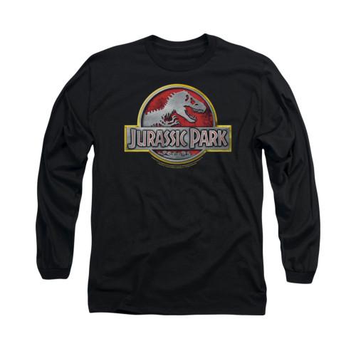 Image for Jurassic Park Long Sleeve T-Shirt - Logo