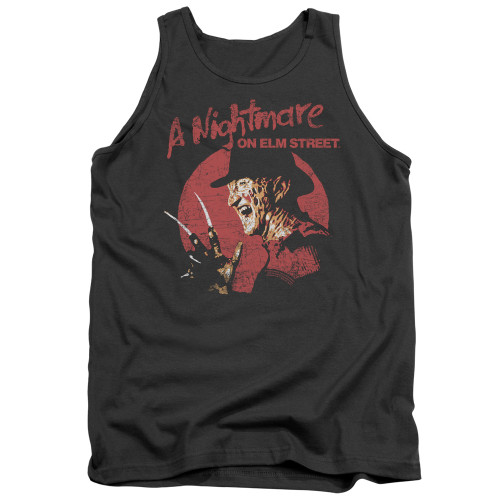 Image for A Nightmare on Elm Street Tank Top - Freddy Circle