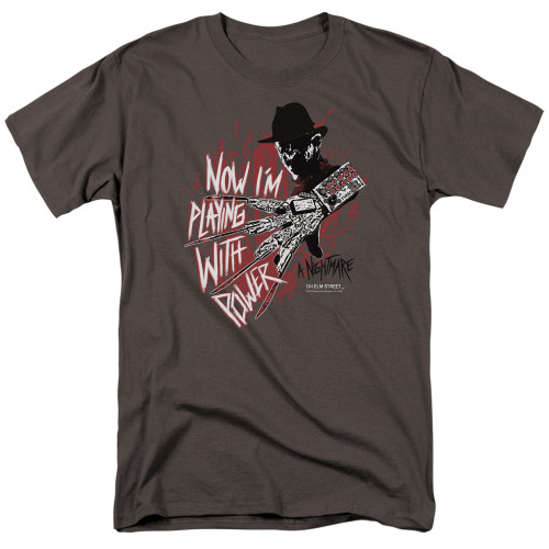 Image for A Nightmare on Elm Street T-Shirt - Playing Wth Power