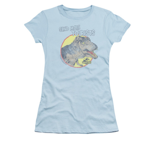 Image for Jurassic Park Girls T-Shirt - More Tourists