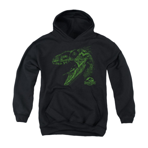 Image for Jurassic Park Youth Hoodie - Raptor Mount