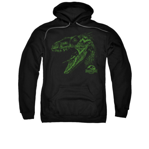 Image for Jurassic Park Hoodie - Raptor Mount